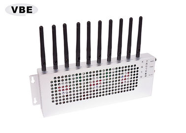 Examination Room Wifi Blocker Jammer , Cell Phone Wifi Jammer 360 Degree Jamming