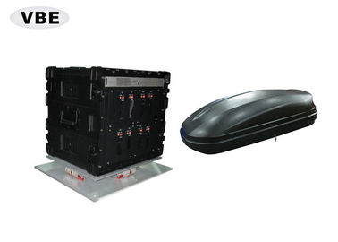 Vehicle Mounted Drone Signal Jammer 1800W Power Consumption Anti Drone System